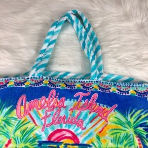Lilly Pulitzer Bags - Lilly Pulitzer Amelia Island Tote